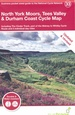 Fietskaart 33 Cycle Map North York Moors, Tees Valley & Durham Coast | Sustrans