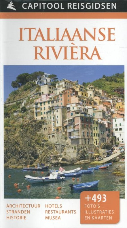 Reisgids Capitool Italiaanse Rivièra | Unieboek | €24,65
