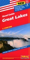 Wegenkaart - landkaart 03 Great Lakes USA | Hallwag