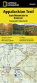 Wandelgids 1510 Topographic Map Guide Appalachian Trail – East Mountain to Hanover  | National Geographic