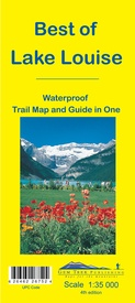 Wandelkaart 13 Best of Lake Louise Map and Guide | Gem Trek Maps