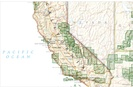 Overzicht Wandelkaarten California Trails Illustrated National Geographic