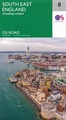 Wegenkaart - landkaart 8 OS Road Map South East England including London | Ordnance Survey