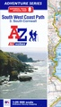 Wandelatlas 3 Adventure Atlas South West Coast Path South Cornwall | A-Z Map Company