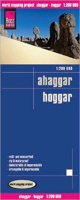 Online bestellen: Wegenkaart - landkaart Ahaggar - Hoggar   Reise Know-How Verlag