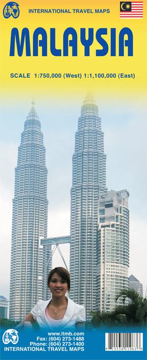 Landkaarten-Maleisie