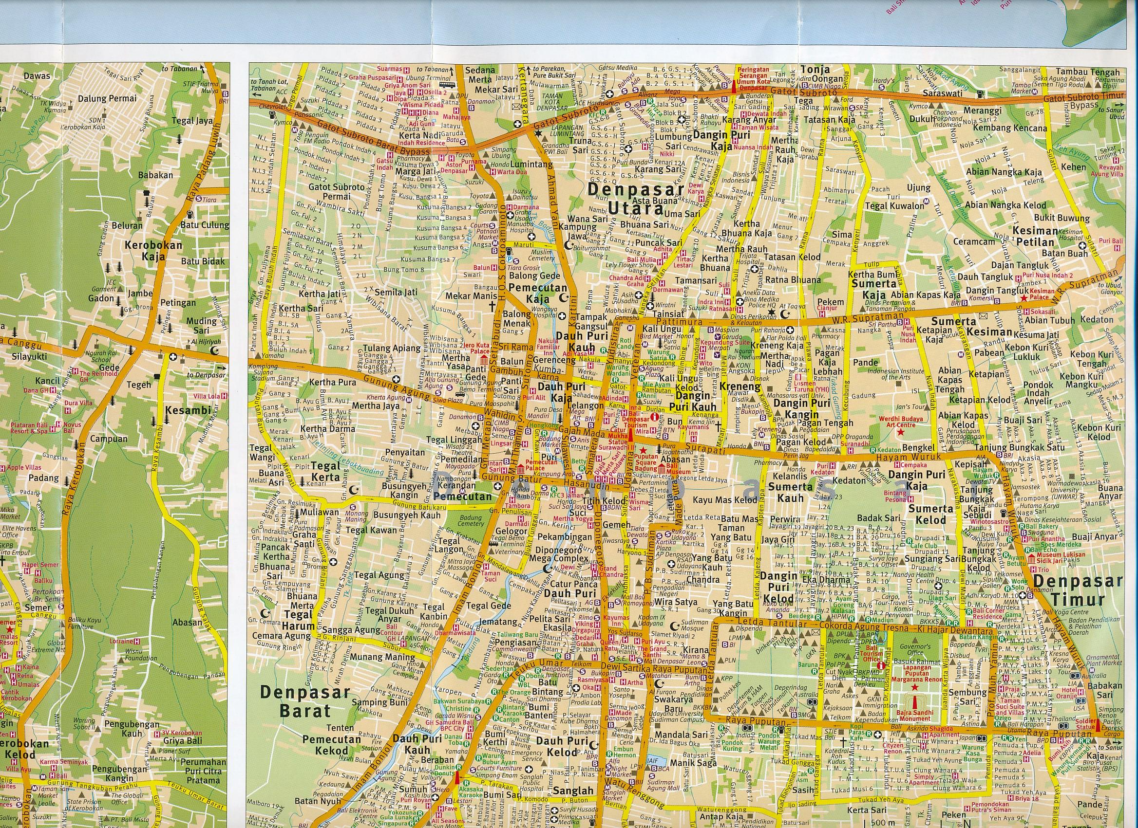 Wegenkaart landkaart bali periplus 9780794607395 wegenkaart landkaart bali periplus altavistaventures Gallery