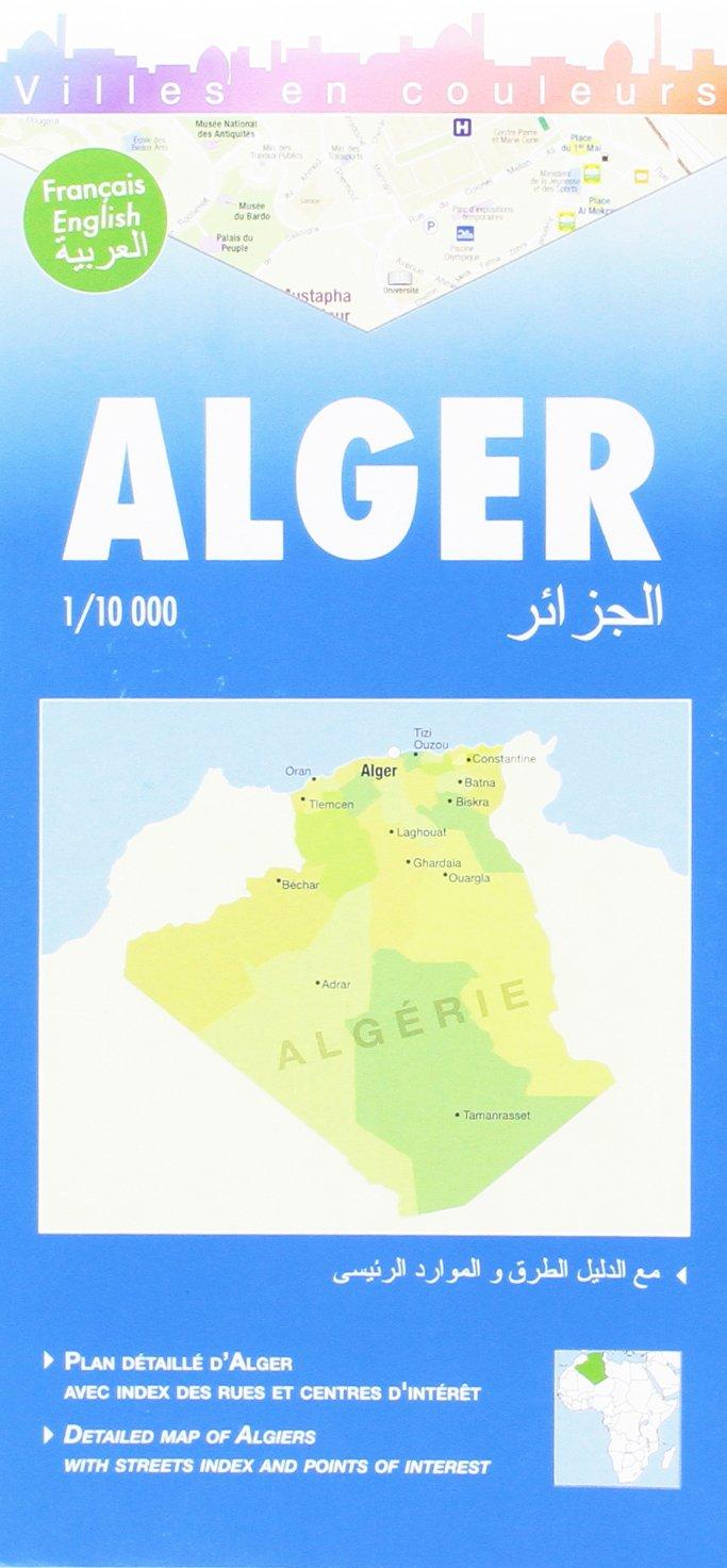 Online bestellen: Stadsplattegrond Algiers   Laure Kane