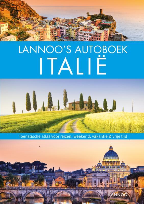 Reisgids Lannoo's Autoboek Italië | Lannoo | €39,99