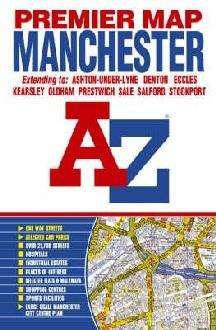 Wegenkaart - landkaart - Stadsplattegrond Manchester | A-Z