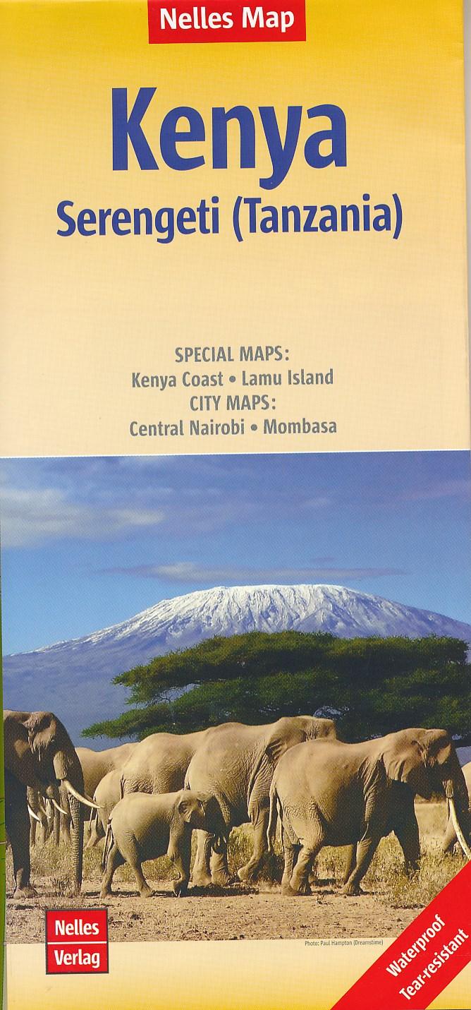 Reisgidsen en wegenkaarten Kenia