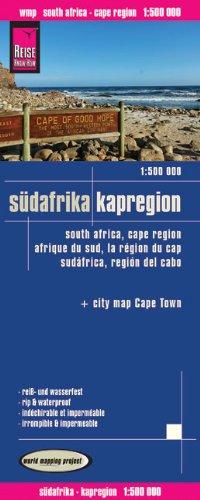 Wegenkaart - landkaart Zuid Afrika: kaapregio - Südafrika Kapregion | Reise Know-How Verlag