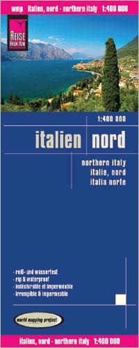 Wegenkaart - landkaart Noord Italië - Italien, Nord | Reise Know-How Verlag