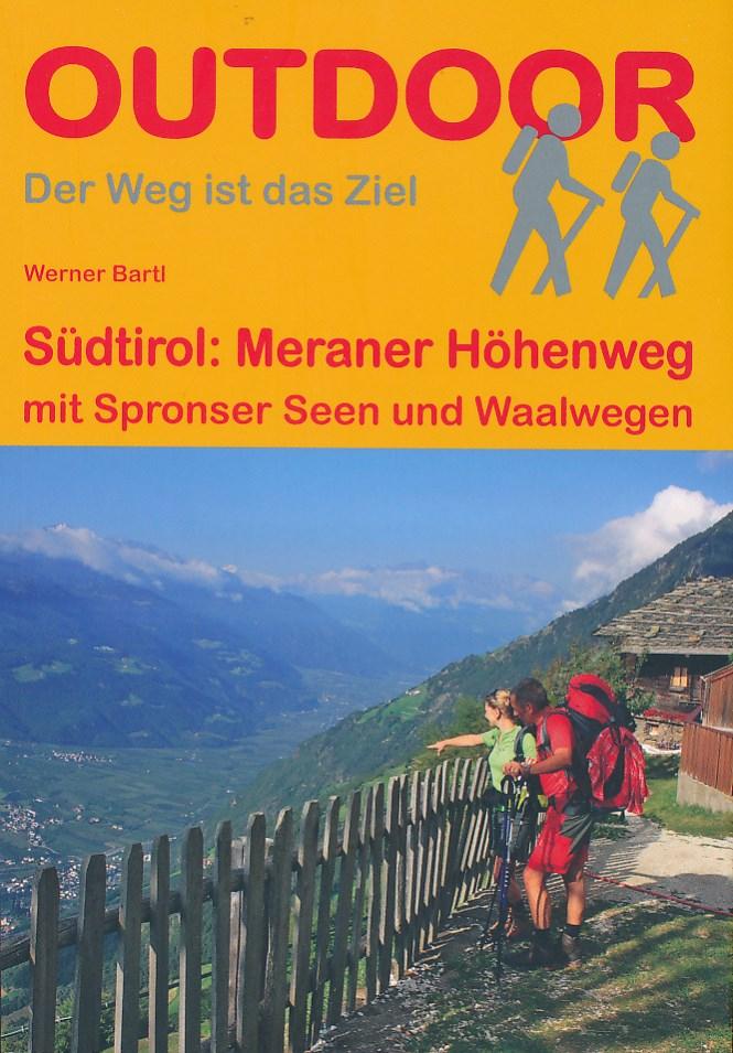 Wandelgids Meraner Höhenweg mit Spronser Seen | Conrad Stein Verlag