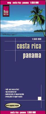 Landkaarten en wegenkaarten Panama