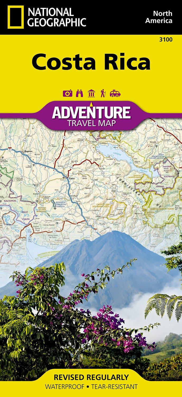 Landkaarten en wegenkaarten Costa Rica