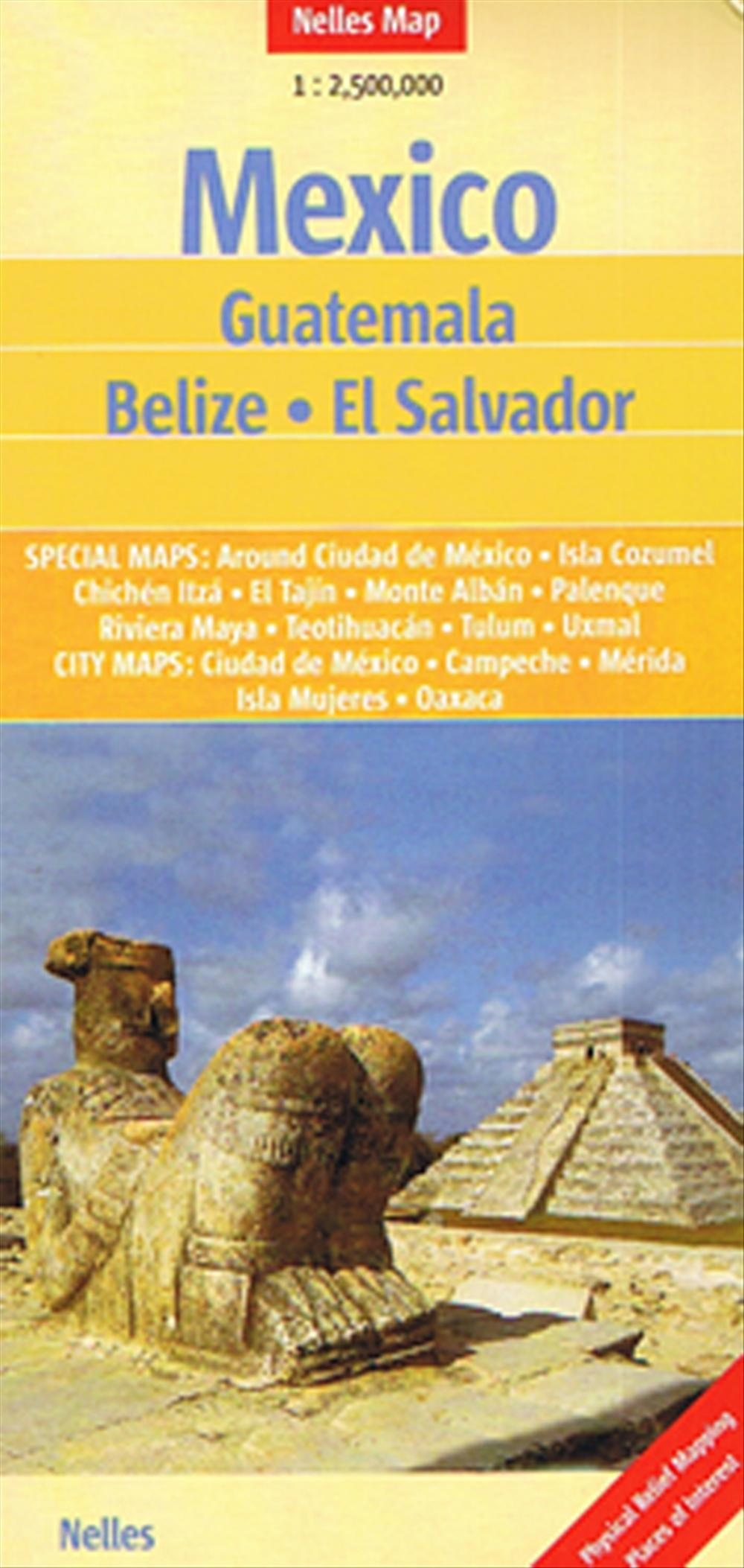 Landkaarten en wegenkaarten Mexico