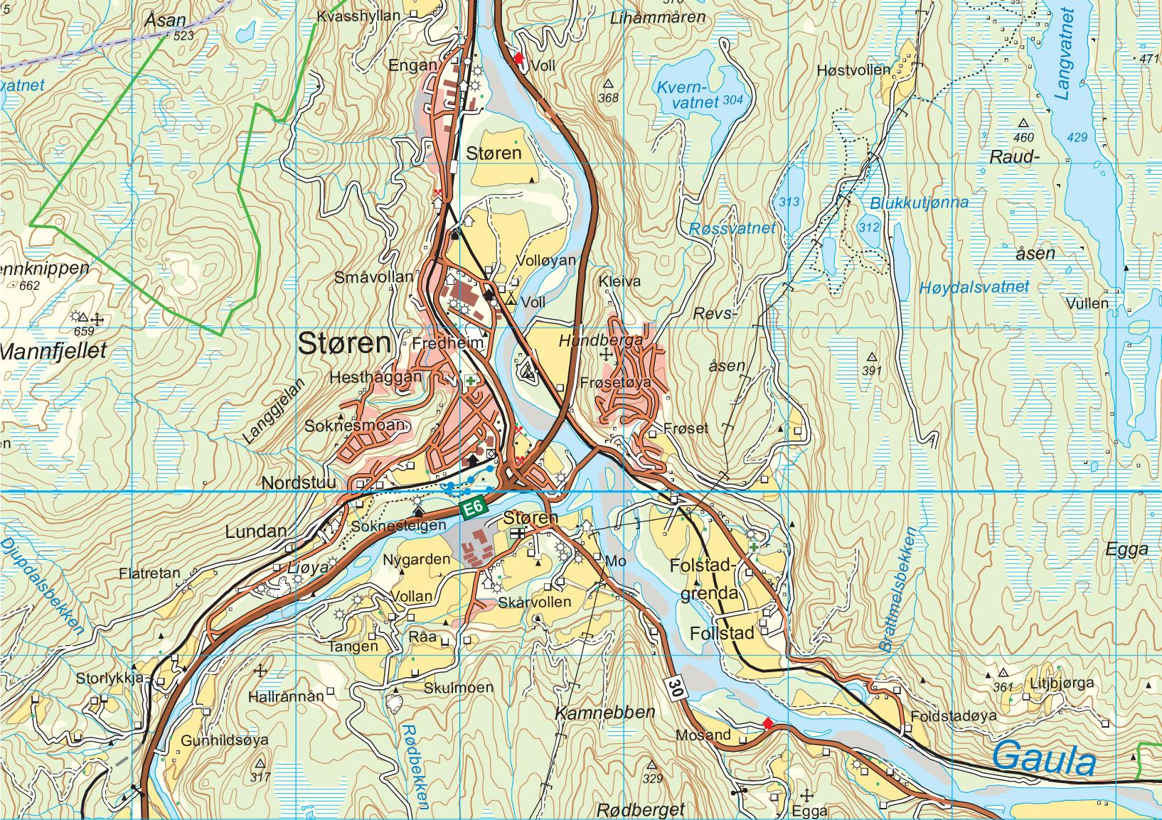 norge serien kart Wandelkaart   Topografische kaart 10039 Norge Serien  norge serien kart