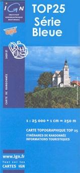 Wandelkaart - Topografische kaart 2537OT Nasbinals - Monts d'Aubrac | IGN