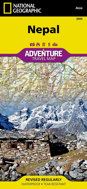 Landkaarten Nepal