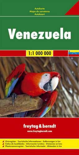 Landkaarten en wegenkaarten Venezuela