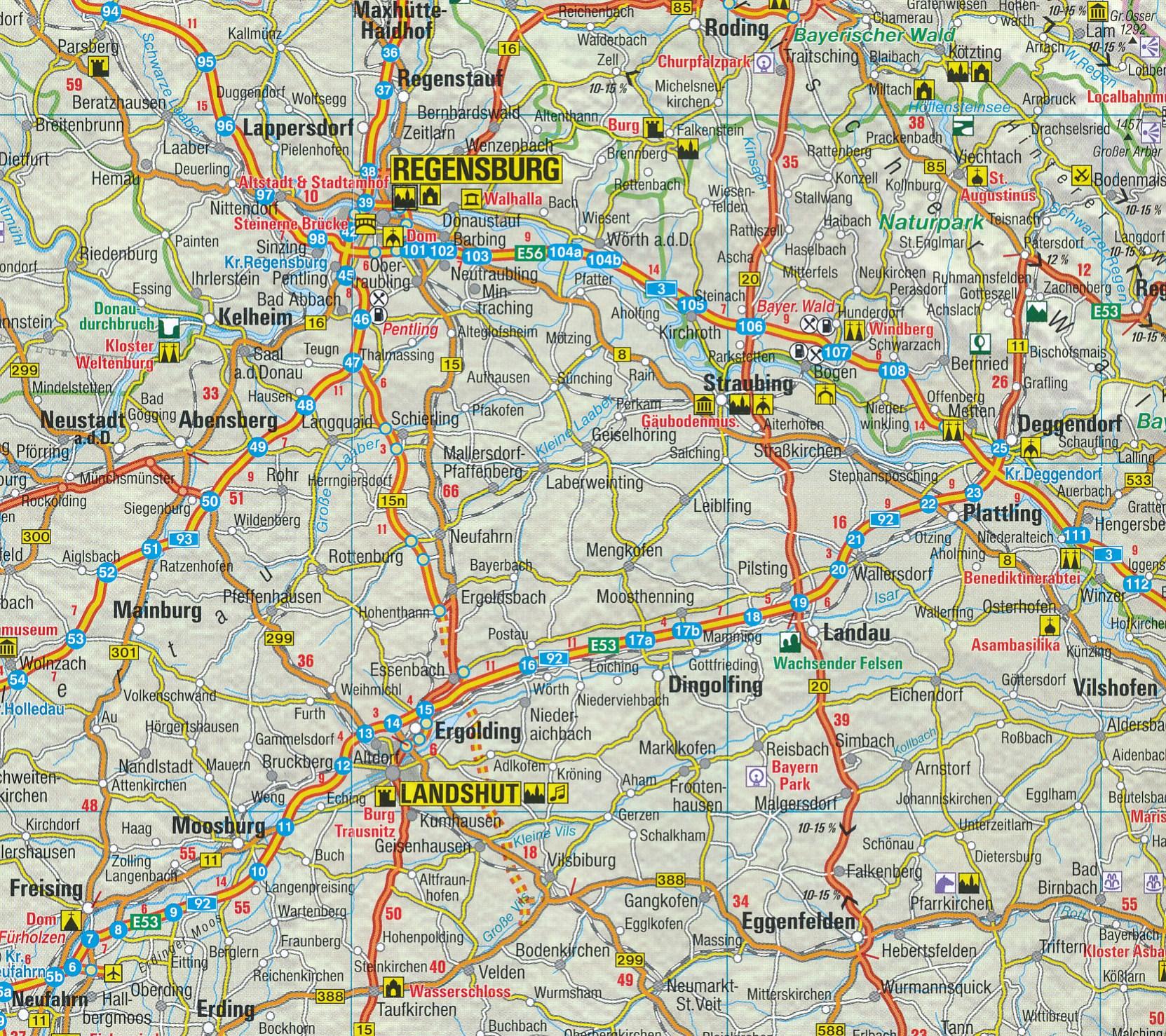 Heloohaloo 60 Inspirerend Kaart Zuid Duitsland Oostenrijk