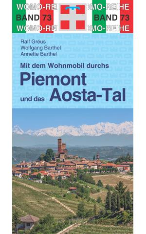 Online bestellen: Campergids 73 Mit dem Wohnmobil durchs Piemont und das Aosta-Tal | WOMO verlag