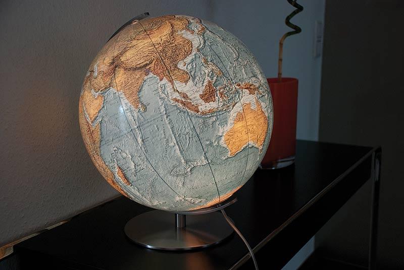 Wereldbol Met Licht : Wereldbol globe duo alba columbus