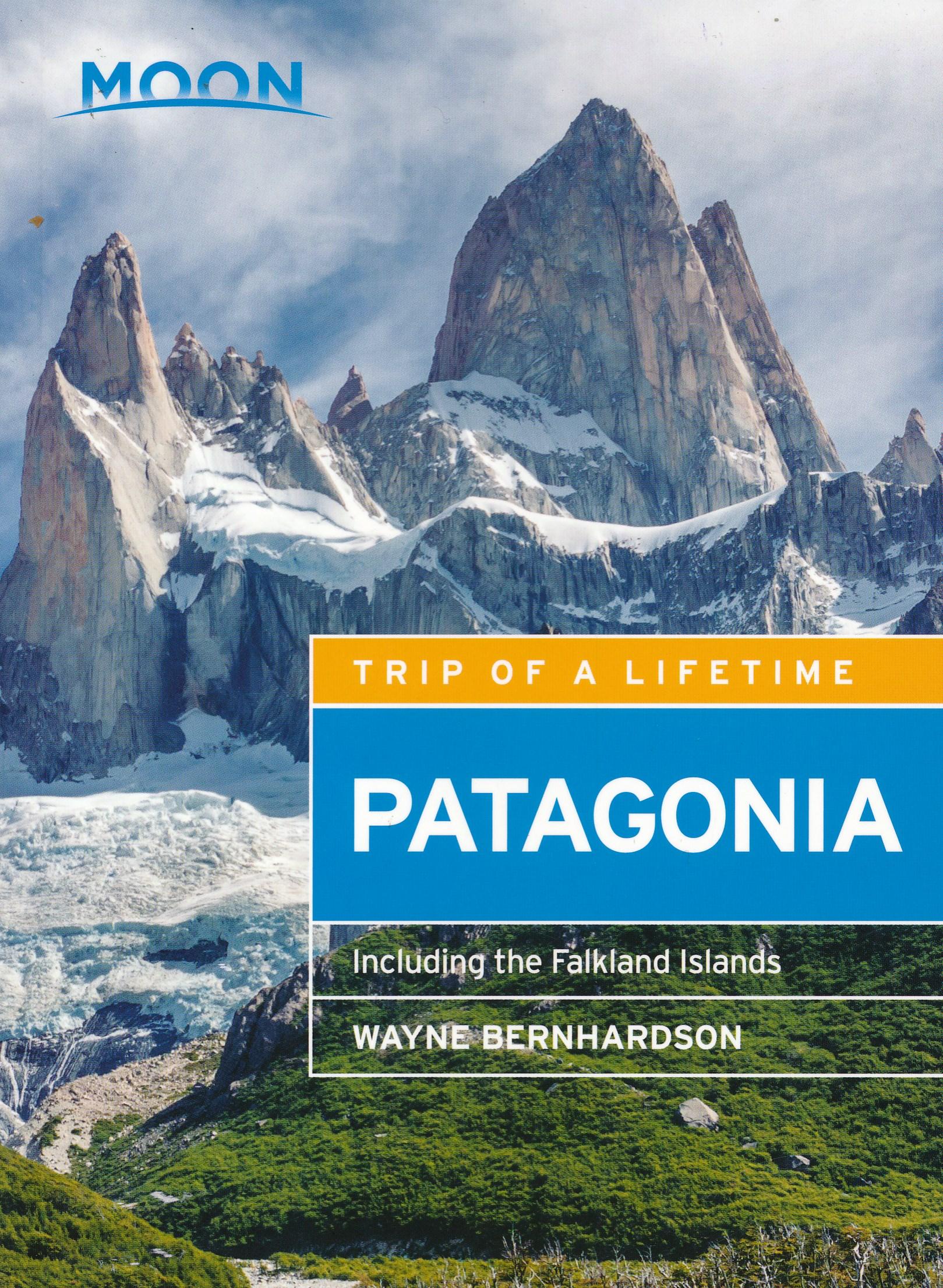Online bestellen: Reisgids Patagonië - Patagonia | Moon