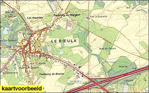 Wandelkaart Topografische Kaart 25 7 8 Topo25 Hasselt Ngi
