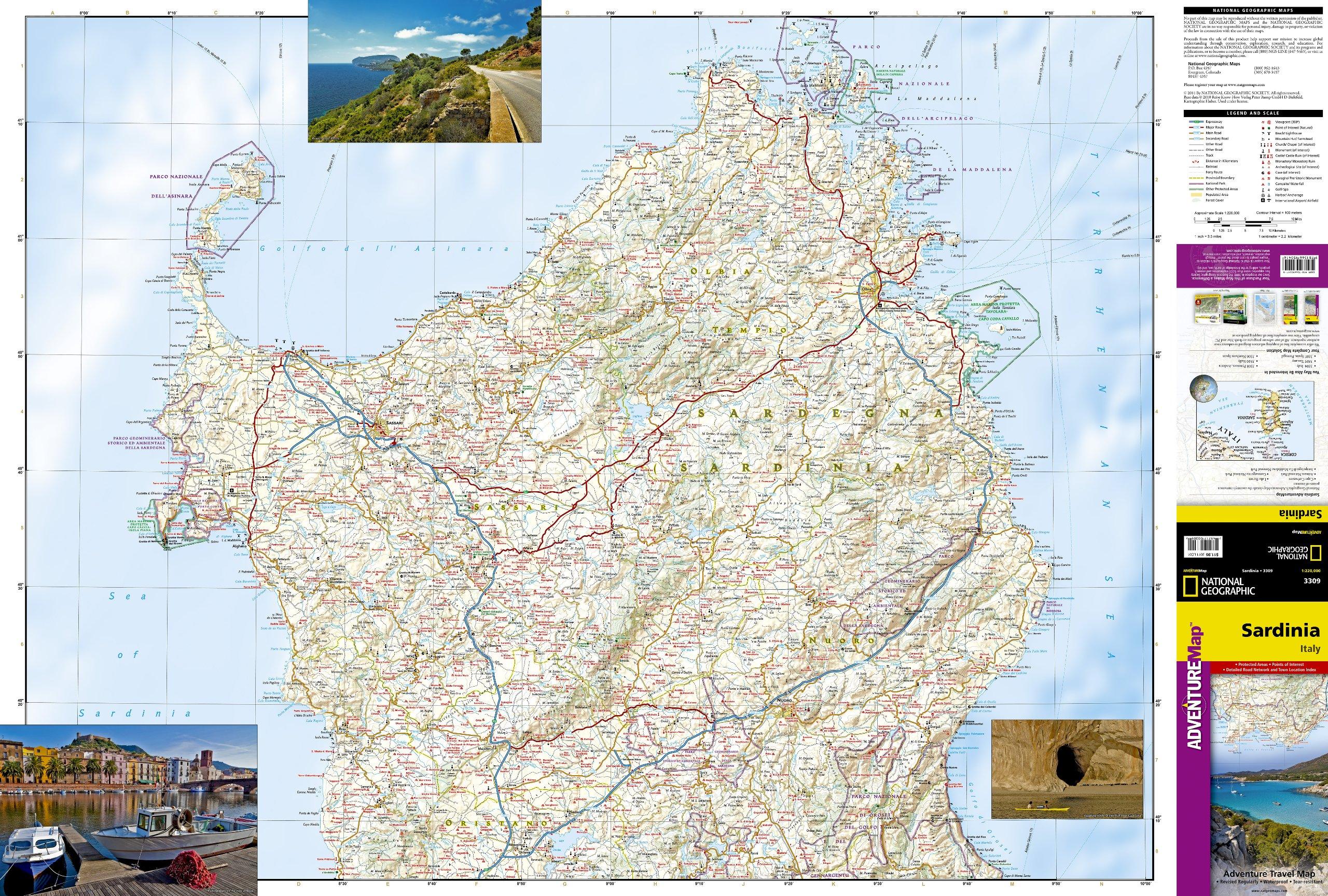 unique media maps wegenkaart landkaart  trails illustrated sardiniasardini  national geographic. unique media maps aardman animations directory ac description