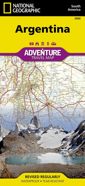 Landkaarten Argentinie