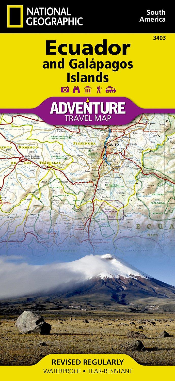 Landkaarten en wegenkaarten Ecuador