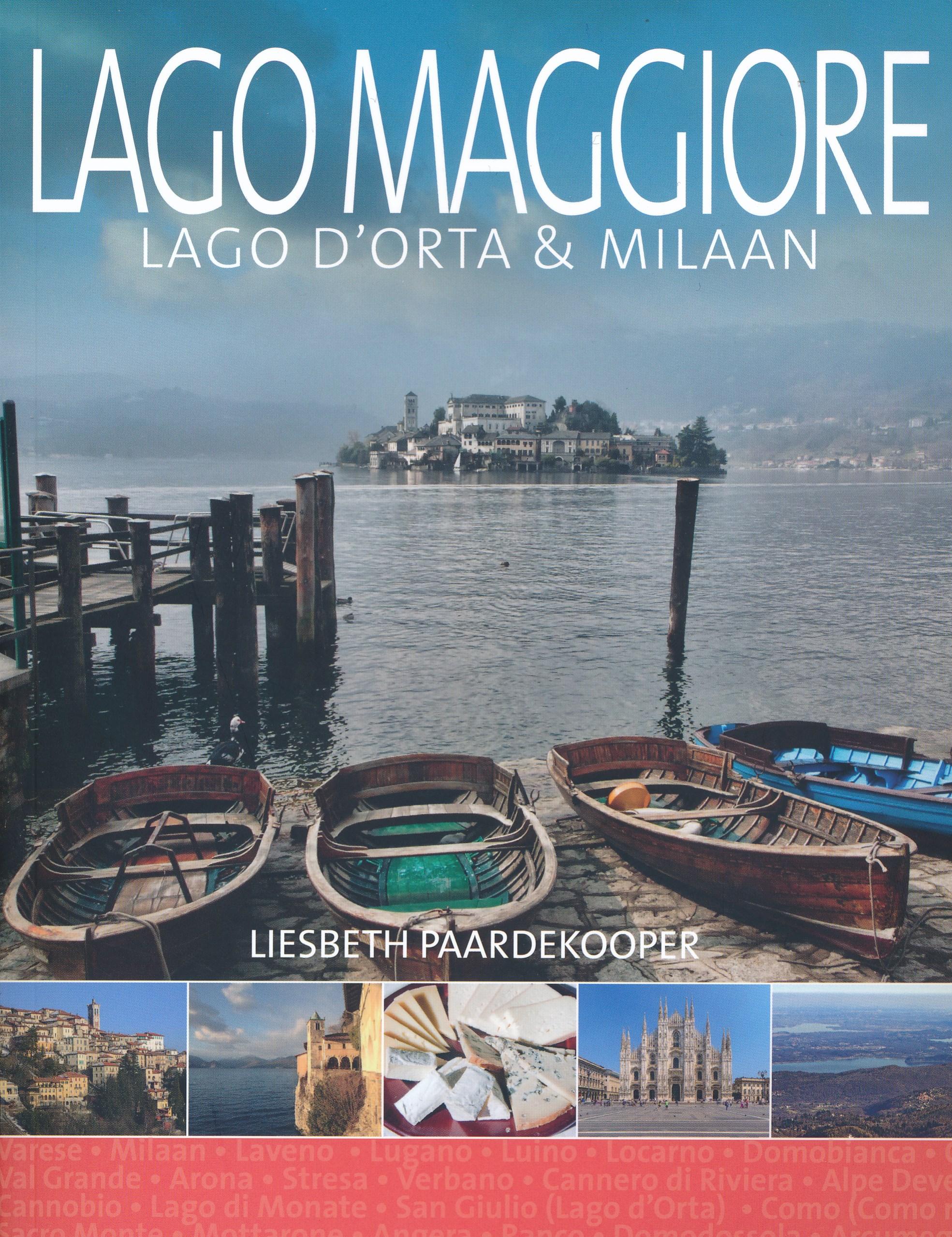 Reisgids Lago Maggiore | Edicola | €22,50