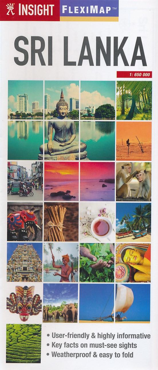 Landkaarten Sri Lanka