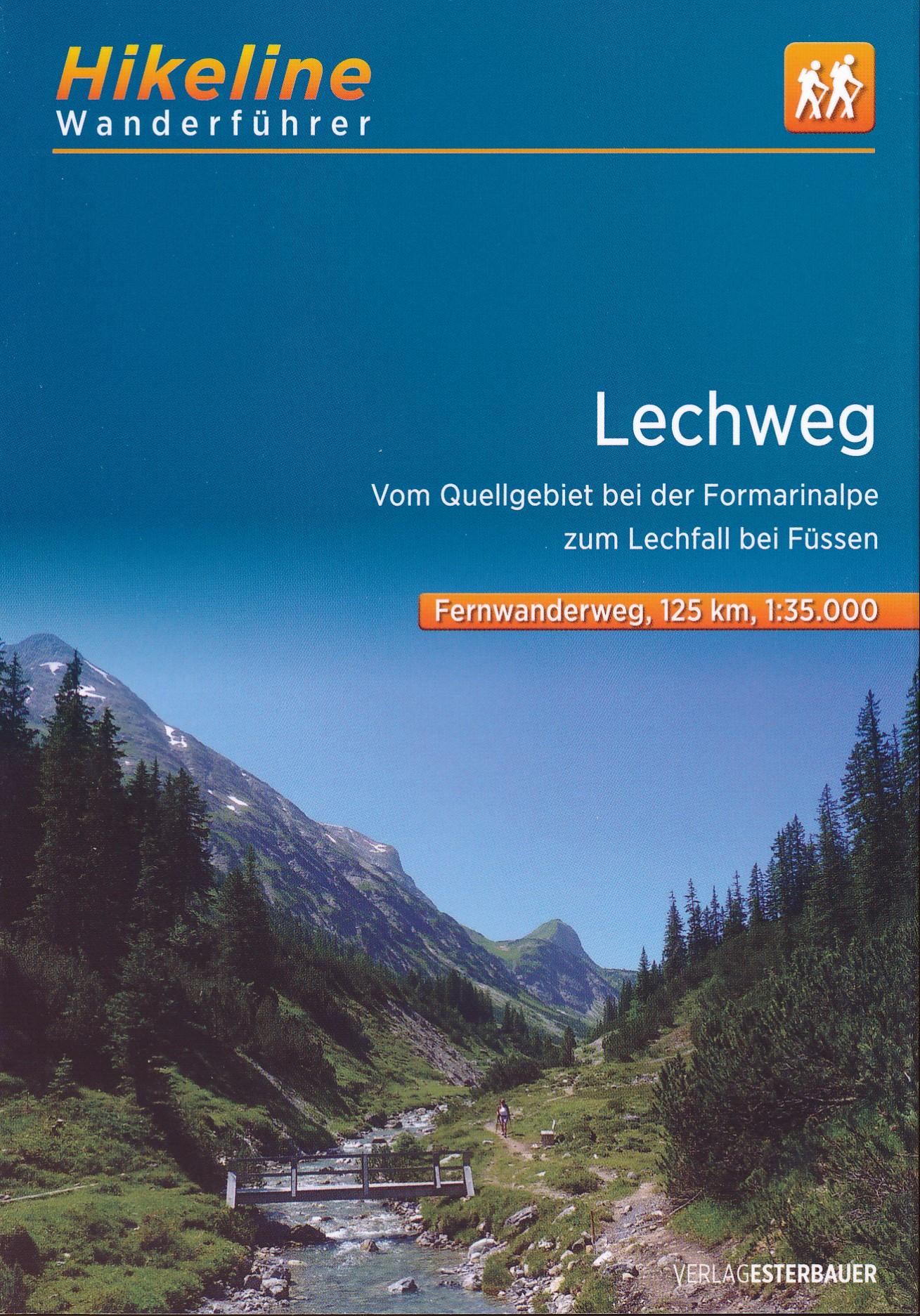 Lechweg Karte.Lechweg