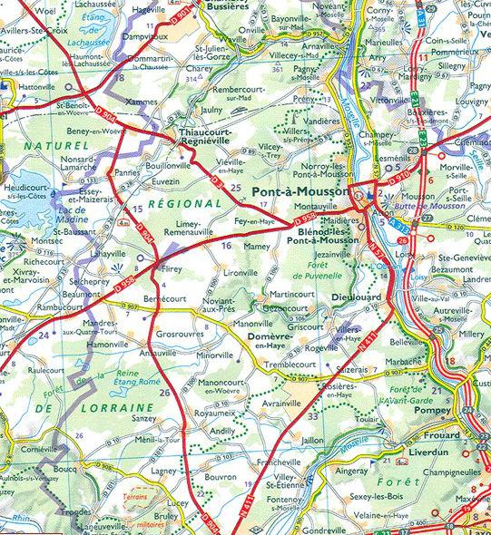Wegenkaart Landkaart 524 Aquitaine 2020 Michelin