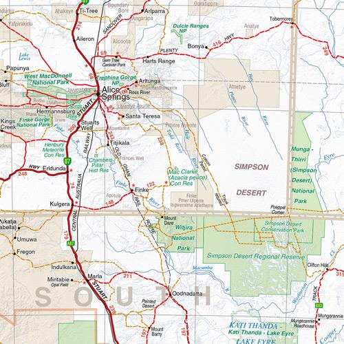 wegenkaart landkaart australia australi hema maps. Black Bedroom Furniture Sets. Home Design Ideas