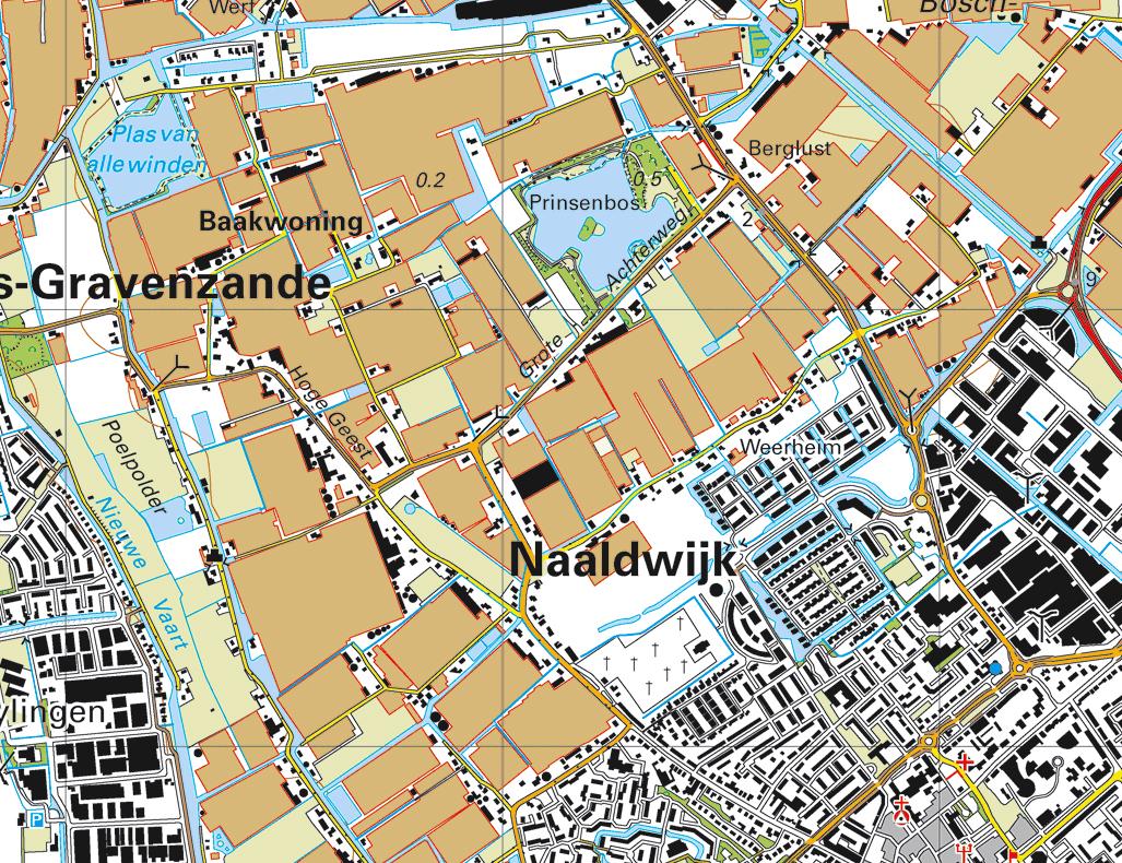 Topografische Atlas provincie Zuid Holland | 12 Provinciën