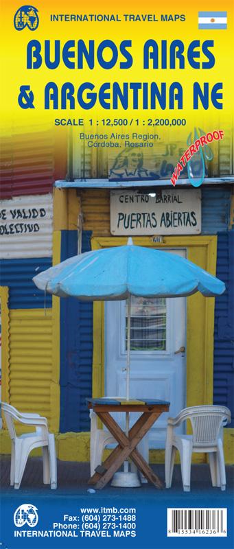 Online bestellen: Plattegrond Buenos Aires - Argentinië Noordoost | ITMB
