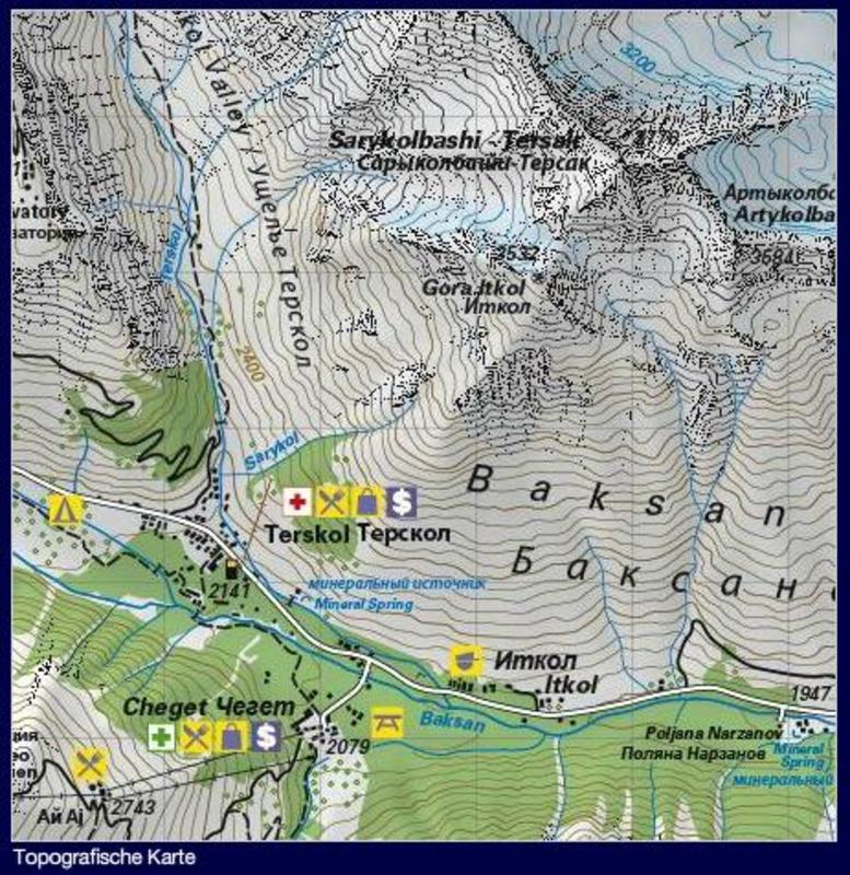wandelkaart trekkingmap elbrus climbing map 9783952329436 reisboekwinkel de zwerver. Black Bedroom Furniture Sets. Home Design Ideas