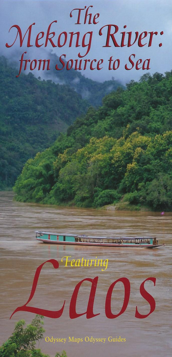 Wegenkaart - landkaart Laos - The Mekong River: from source to sea | Odyssey