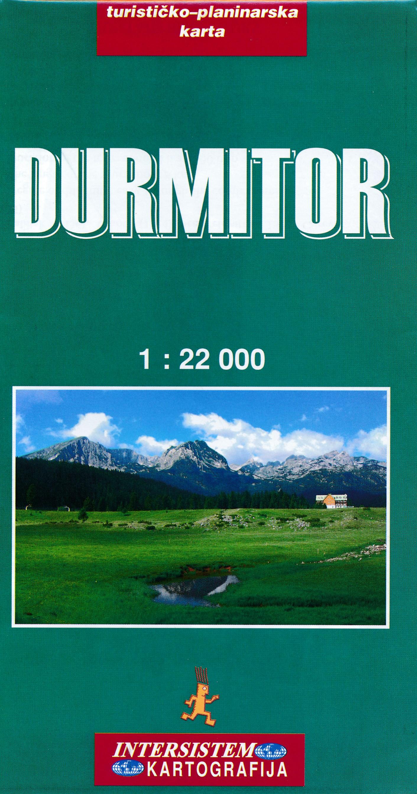 Online bestellen: Wandelkaart Durmitor National Park - Montenegro | Trimaks
