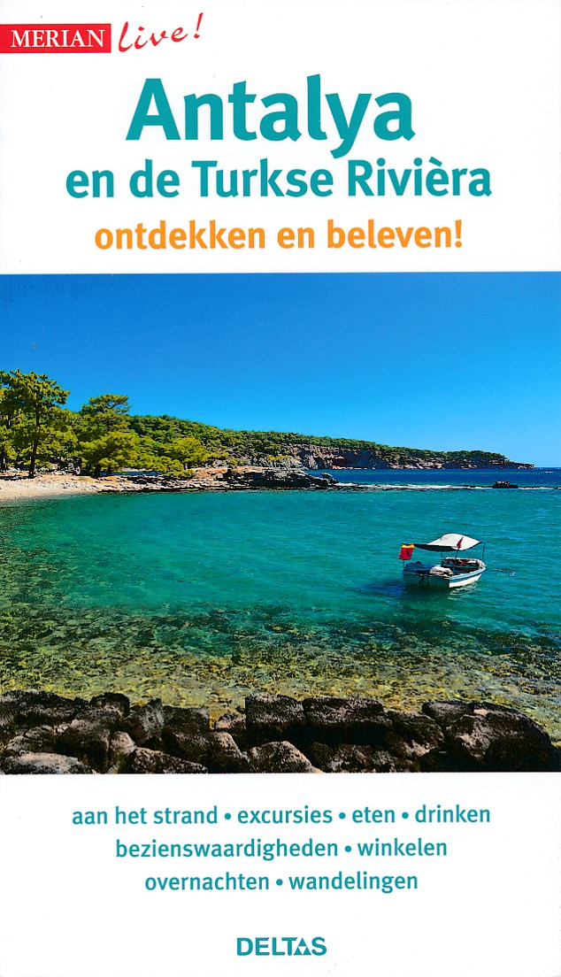 Online bestellen: Reisgids Merian live Antalya en de Turkse Riviera | Deltas
