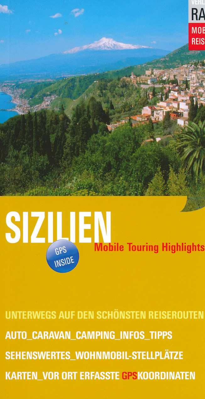 Online bestellen: Campergids Sizilien | Rau Verlag
