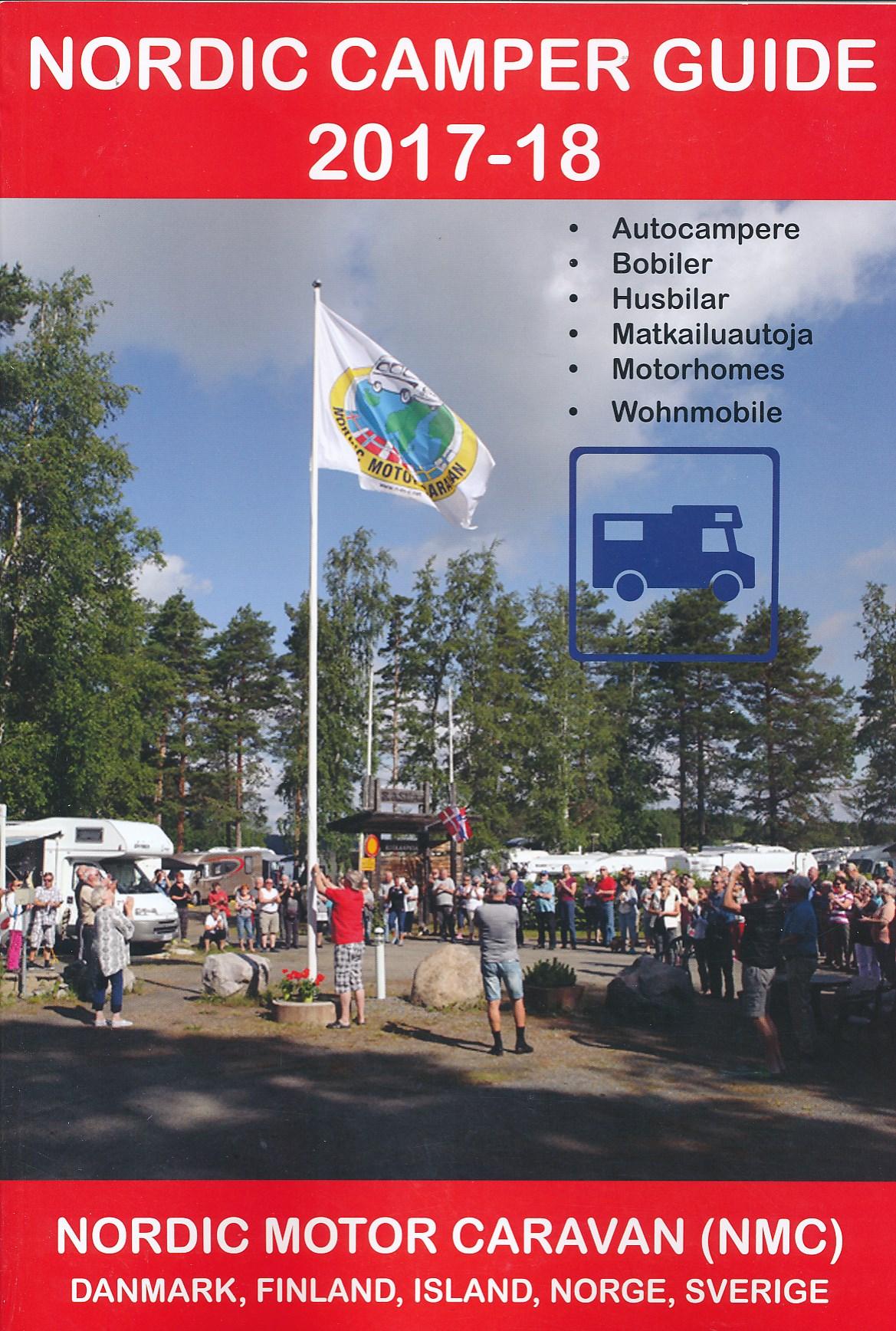 Campergids Nordic Camper Guide 2017-2018 | Vicarious Books
