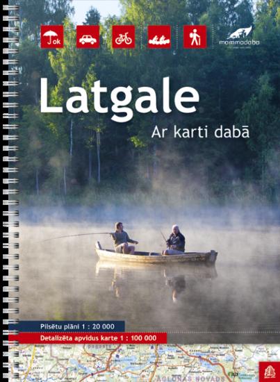 Wegenatlas Letland oost - Latgale | Jana Seta