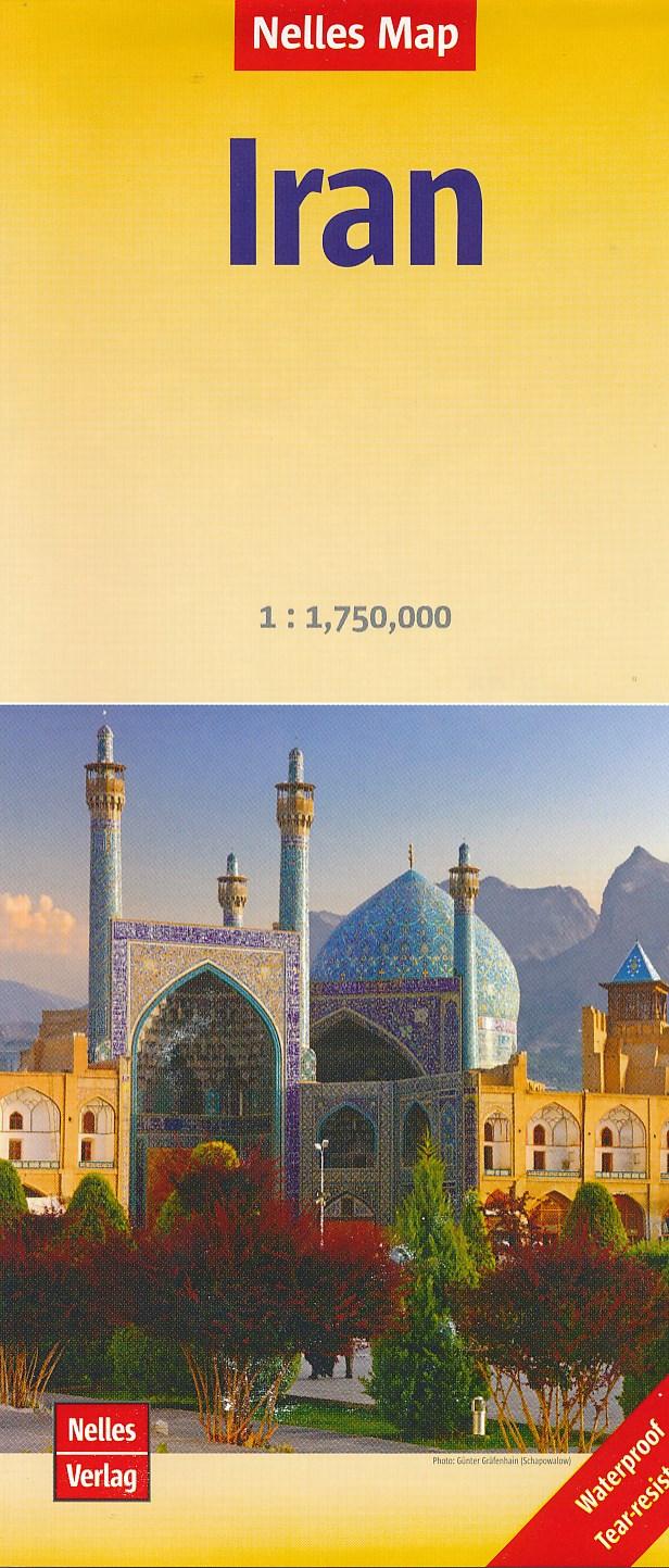 Wegenkaart - landkaart Iran | Nelles