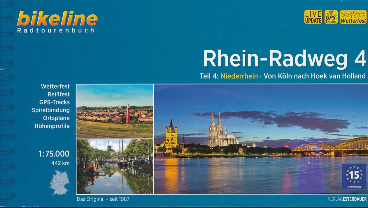 Fietsgids Bikeline Rhein radweg 4 | Esterbauer