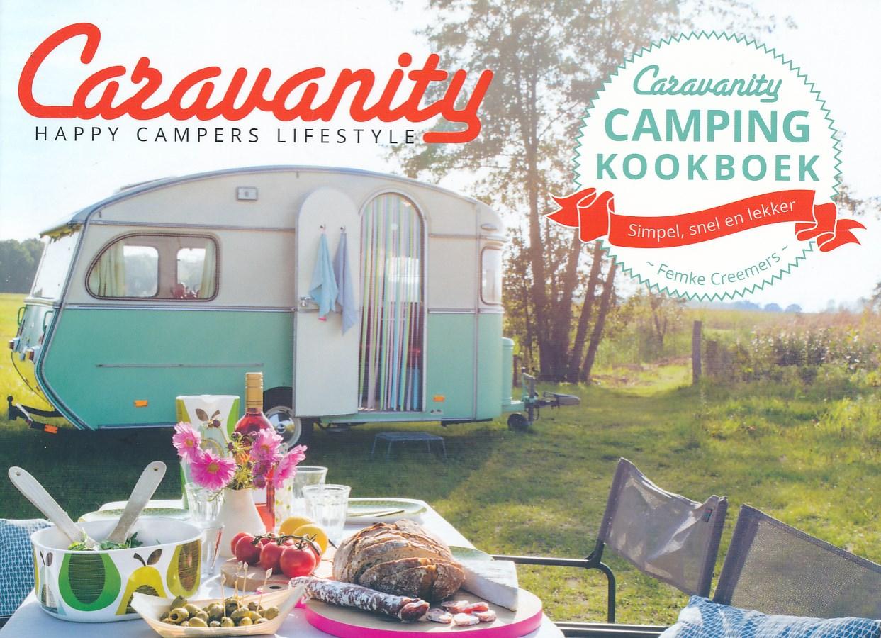 Kookboek Caravanity camping kookboek | Kosmos Uitgevers de zwerver